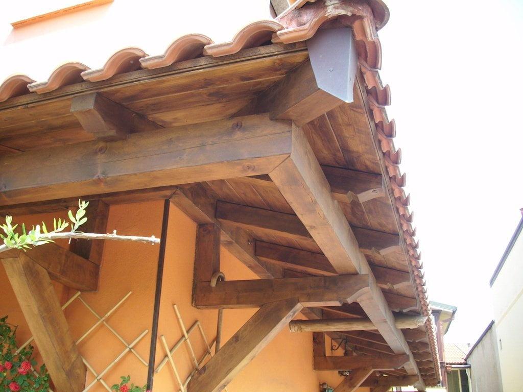 Pensiline in legno bergamo como varese lombardia - Ferramenta per finestre in legno ...
