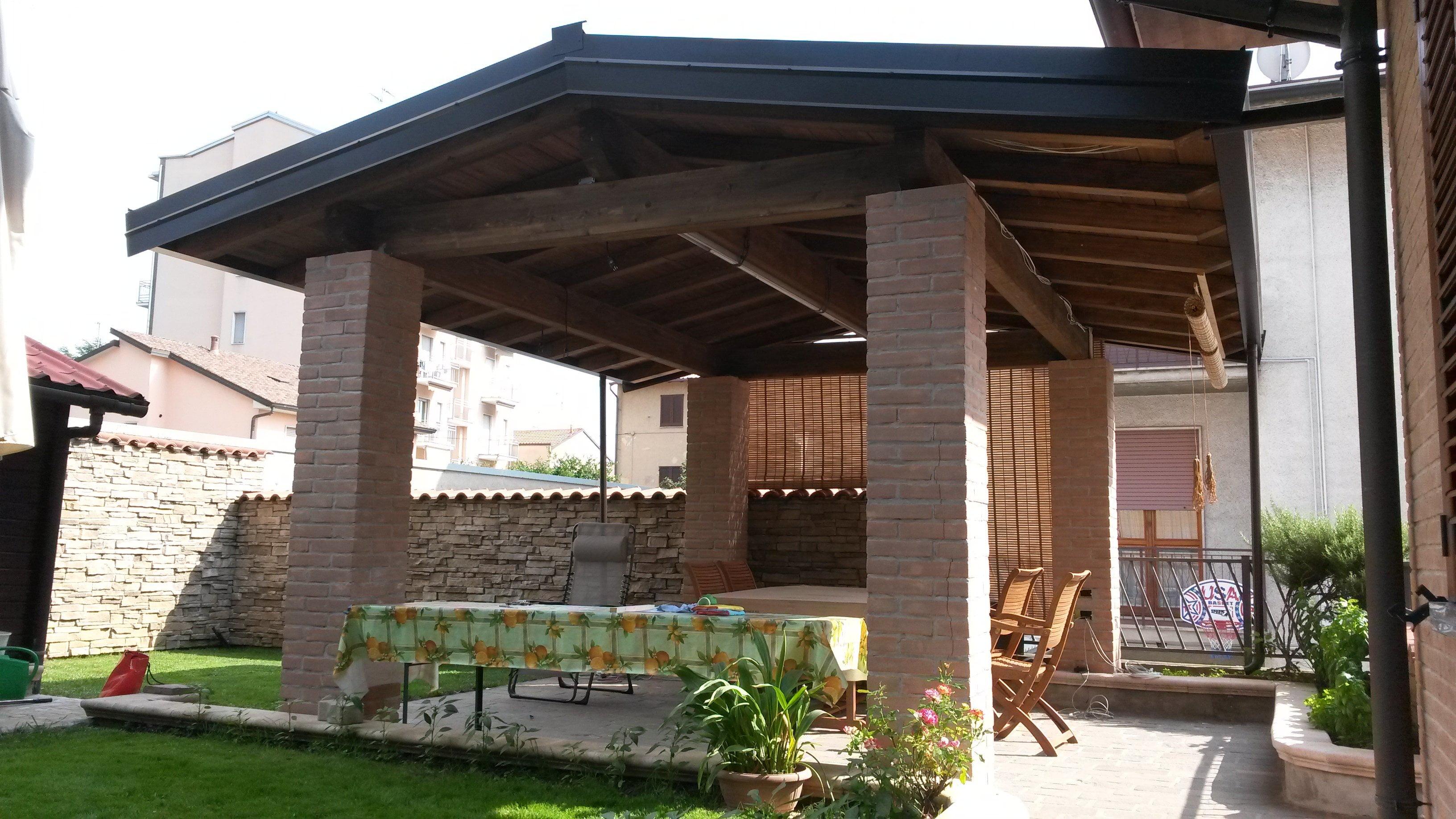 Berso 39 in legno per esterno milano e provincia cereda - Tettoie in legno per esterno ...