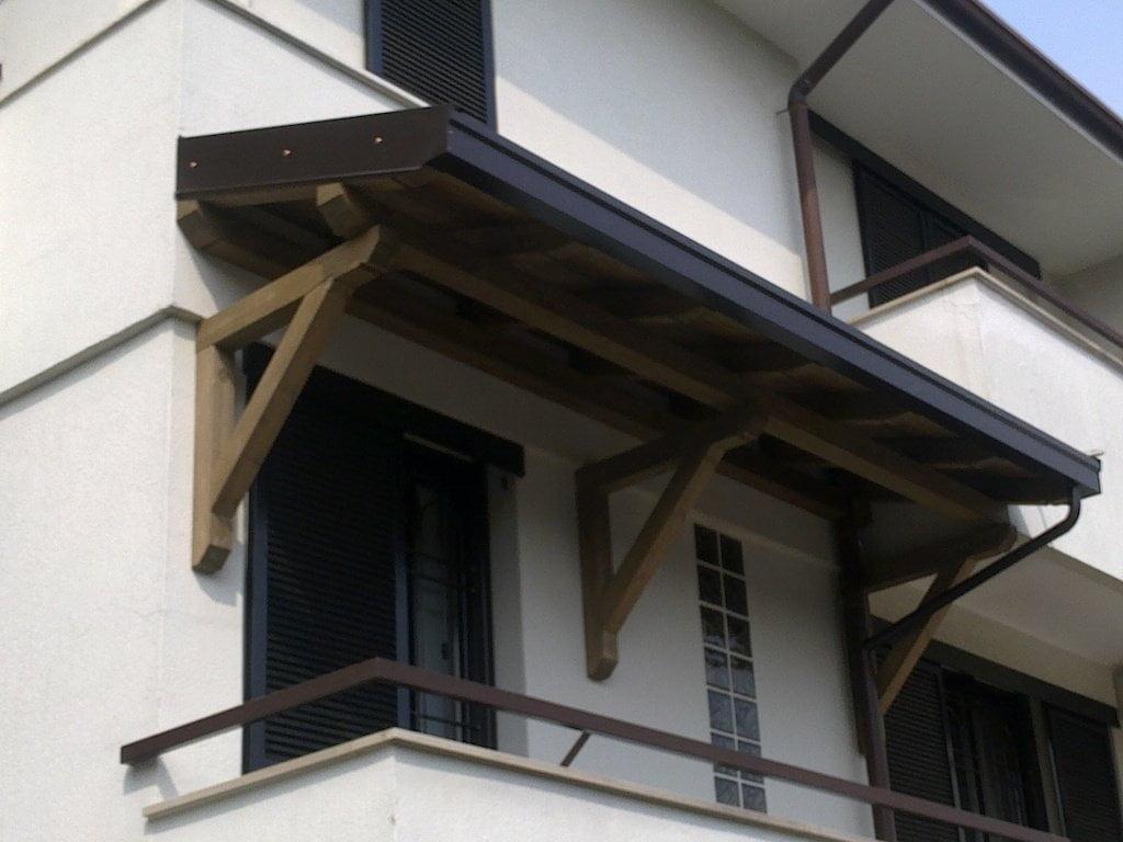 Pensiline in legno bergamo como varese lombardia - Copertura lavatrice da esterno ...