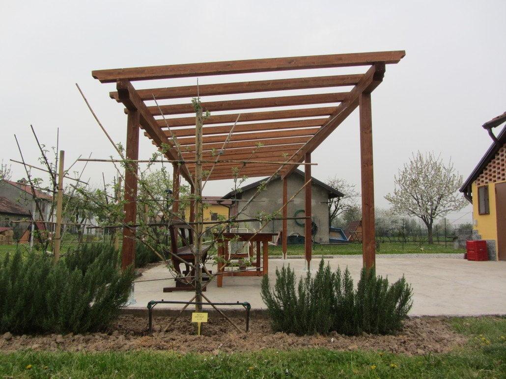Pergole e pergolati bergamo cremona milano sondrio e for Opzioni di rivestimenti esterni in legno