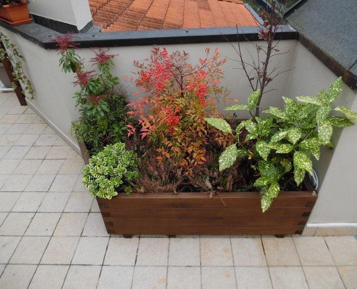 Griglie in legno e fioriere di grandi dimensioni in legno - Griglie da esterno ...
