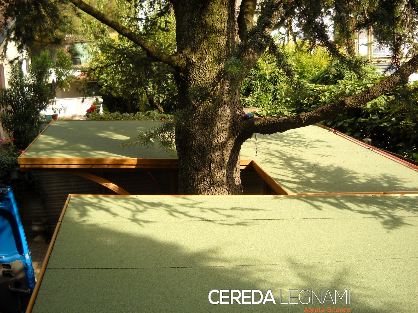 garage di legno - Cereda Legnami Agrate Brianza