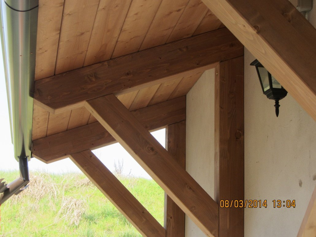 Pensiline in legno bergamo como varese lombardia for Economici rivestimenti in legno