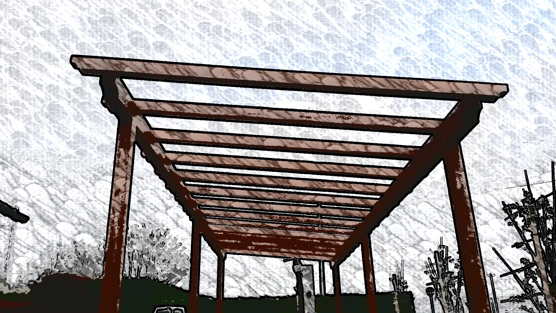 Pergola in legno cereda legnami agrate brianza for Cereda legnami