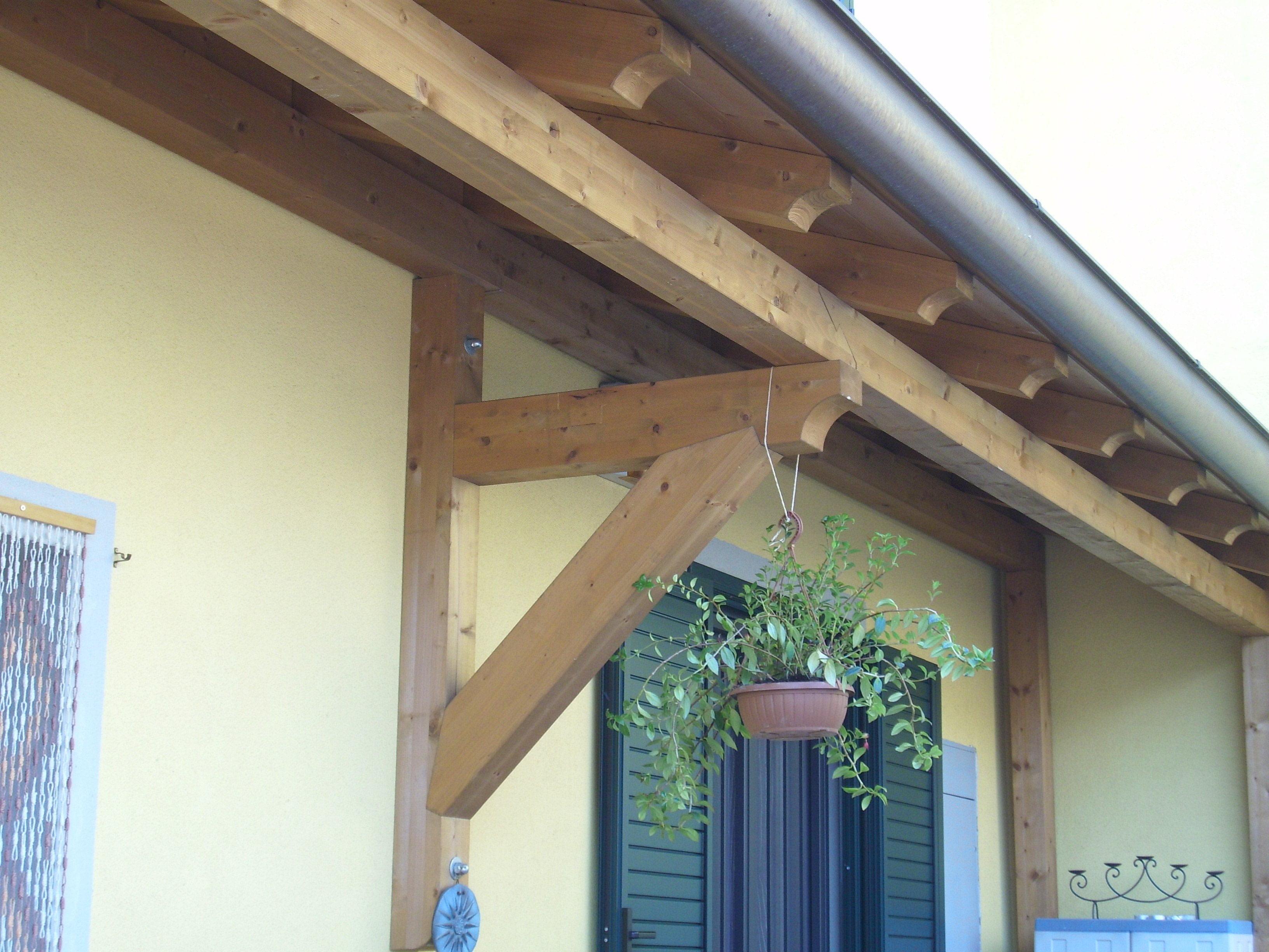 Struttura in legno per coprire porte e finestre milano cereda legnami agrate brianza - Porte finestre milano ...