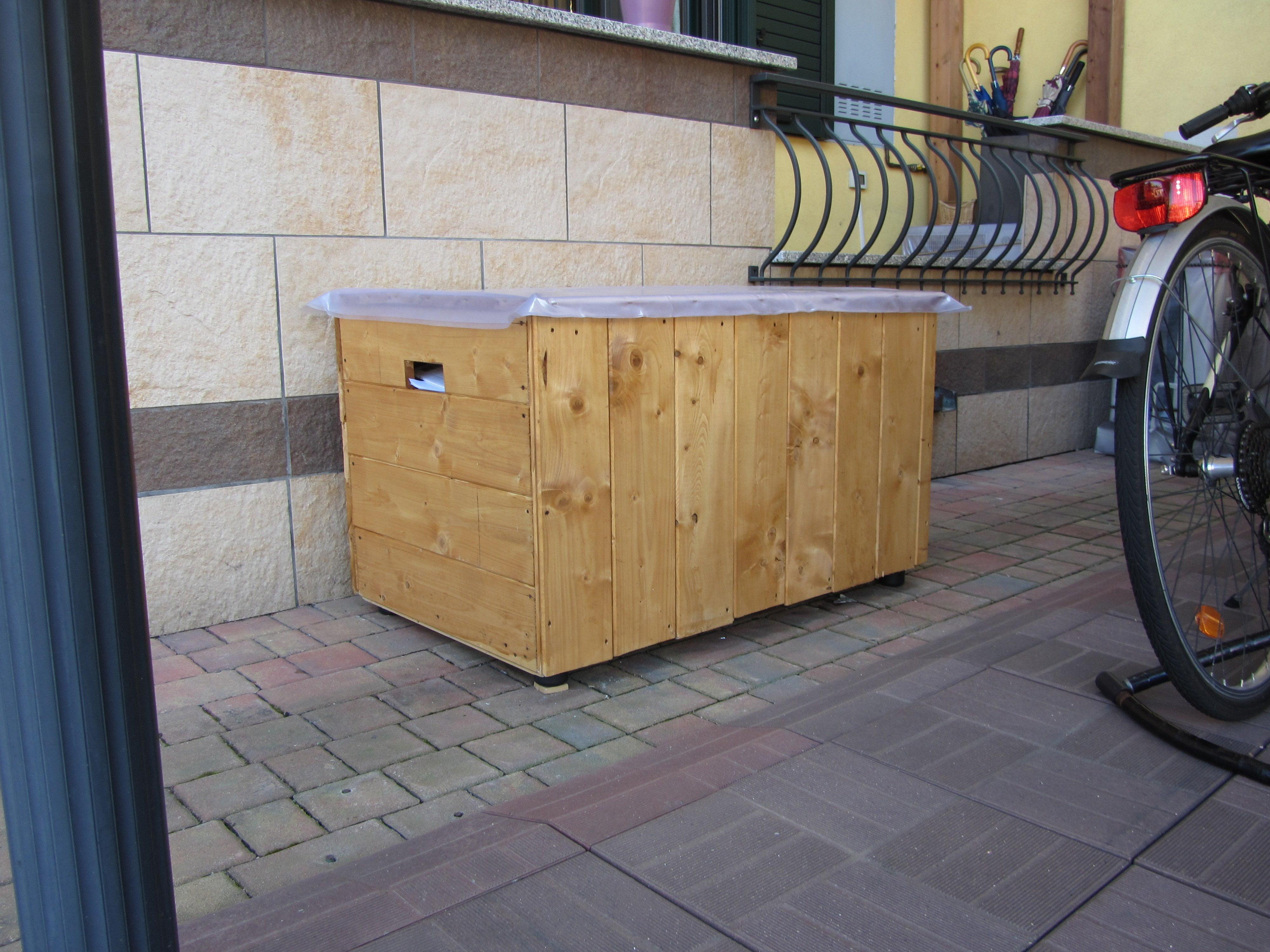 Emanuele divertirsi con il legno fai da te cereda - Mobili con legno di recupero ...