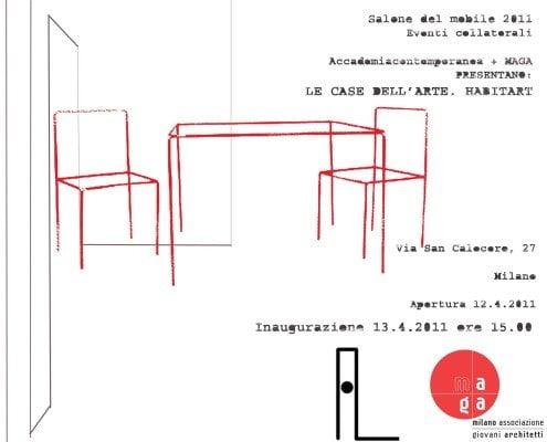Locandina salone del mobile 2011