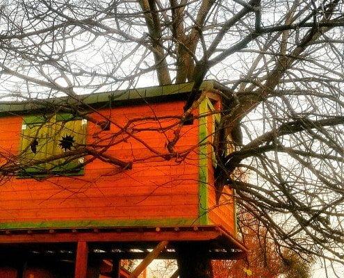 casetta sull'albero