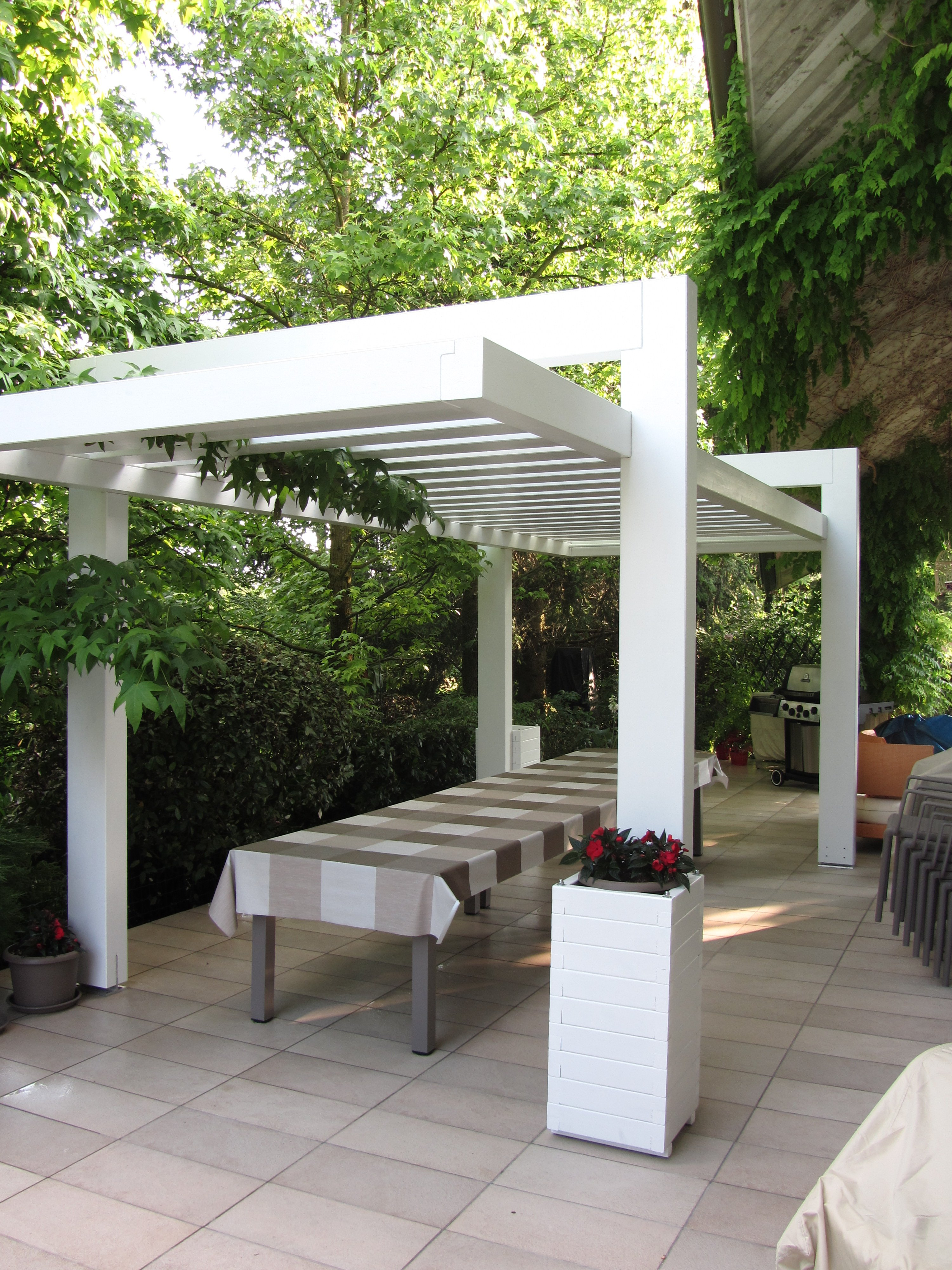 Pergola autoportante archives cereda legnami agrate brianza - Design in legno ...