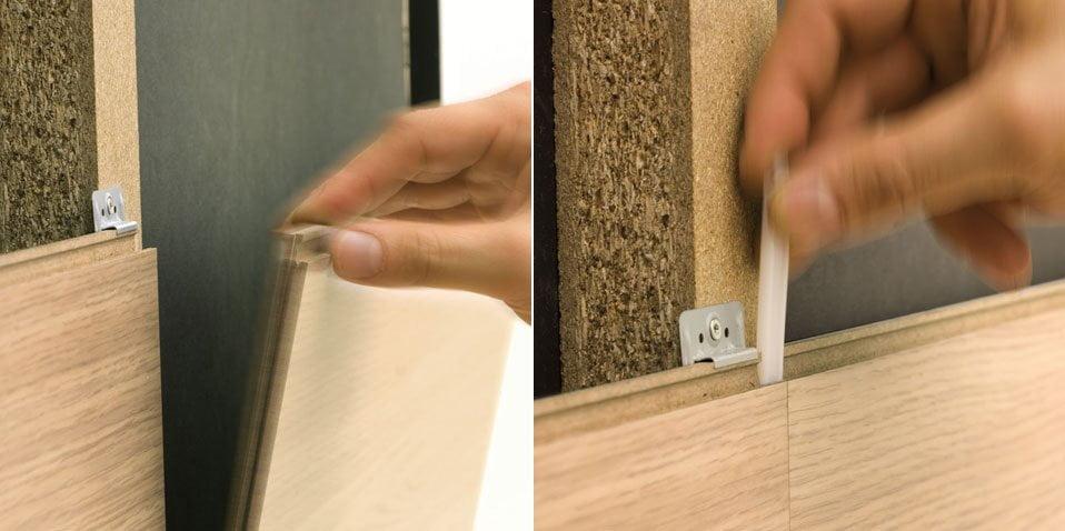 Cereda legnami sistema rivestimento per pareti interne for Economici rivestimenti in legno