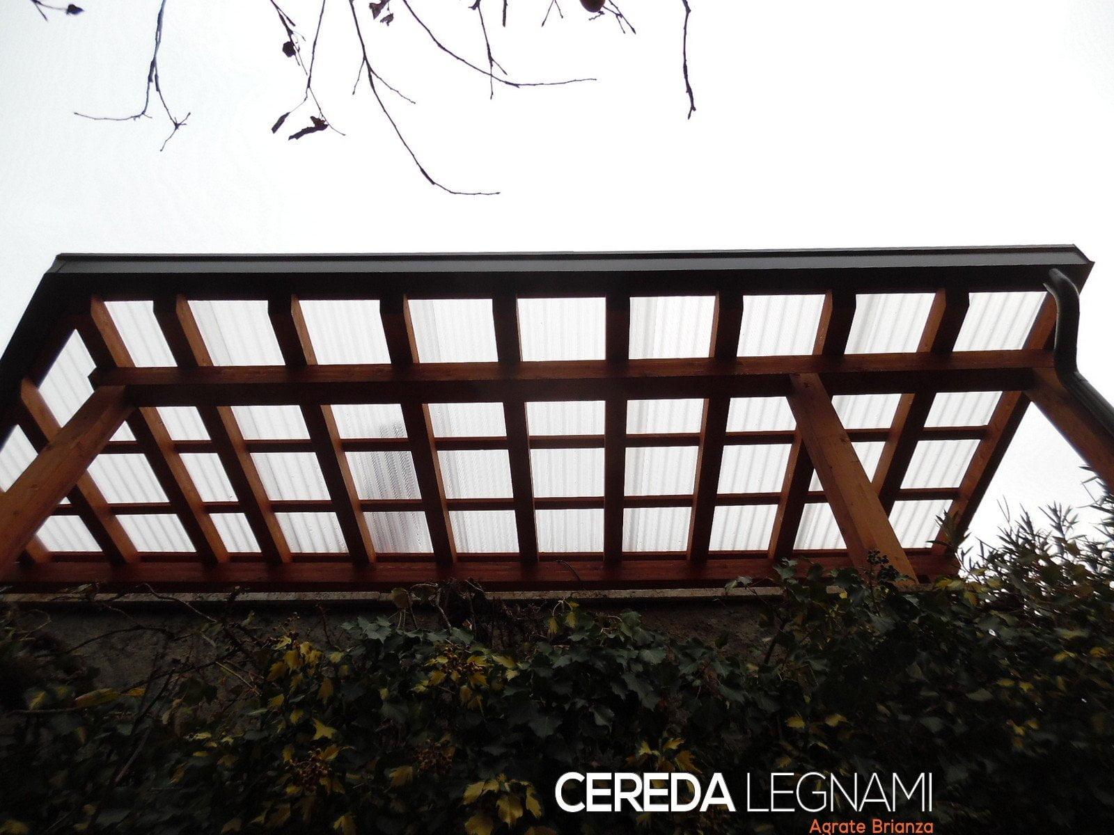 Tettoia legno lamellare cereda legnami agrate brianza for Cereda legnami