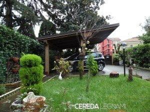 fornitura e posa in opera garage in legno Milano e Provincia - Lombardia