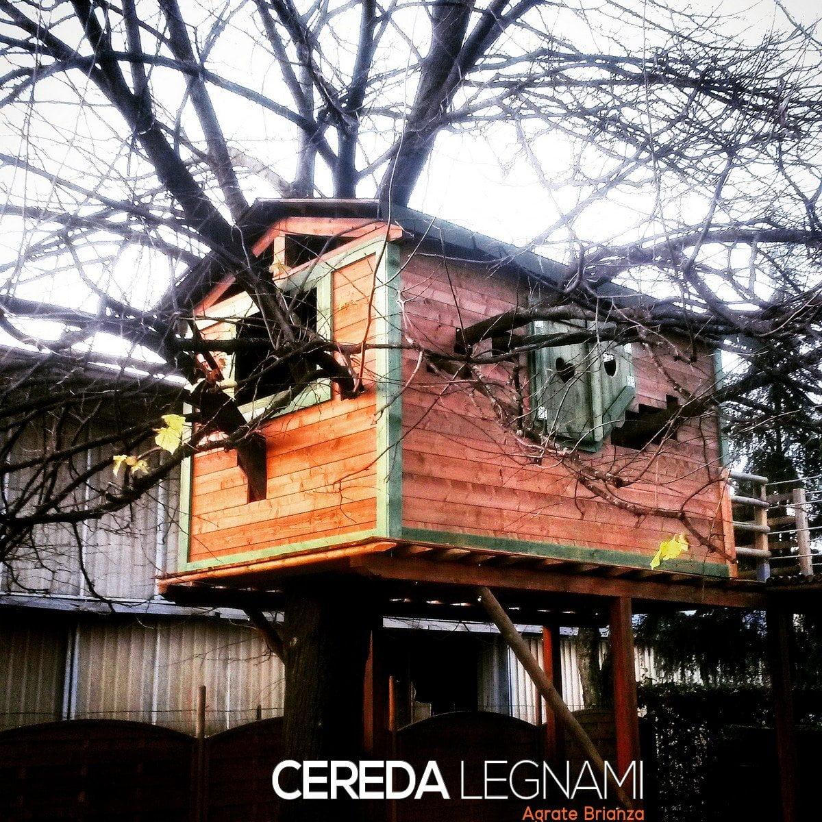 Casetta legno cereda legnami agrate brianza for Cereda legnami