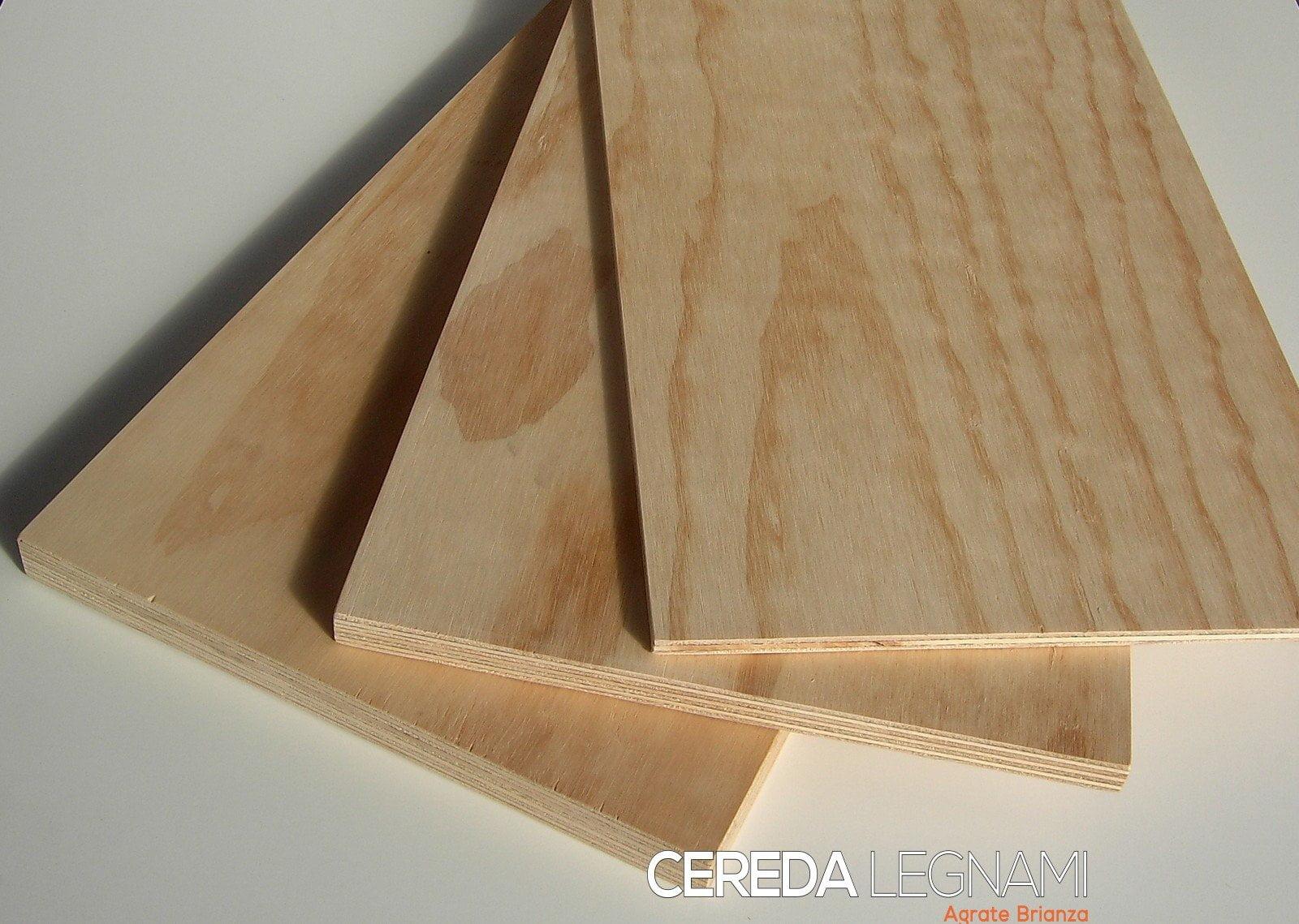pannello in legno multistrato - Cereda Legnami Agrate Brianza