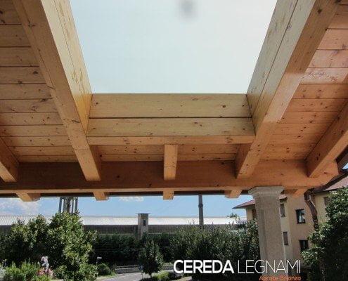 Tettoie di legno cereda legnami agrate brianza - Tettoie in legno per esterno ...