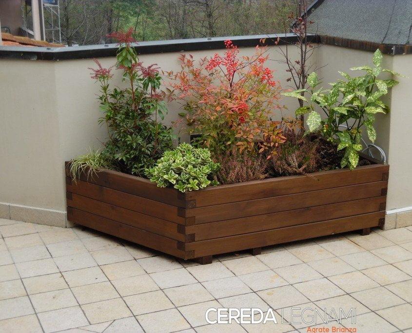 Fioriere da balcone cereda legnami agrate brianza - Porta fioriere da balcone ...