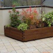 fioriera legno per esterno