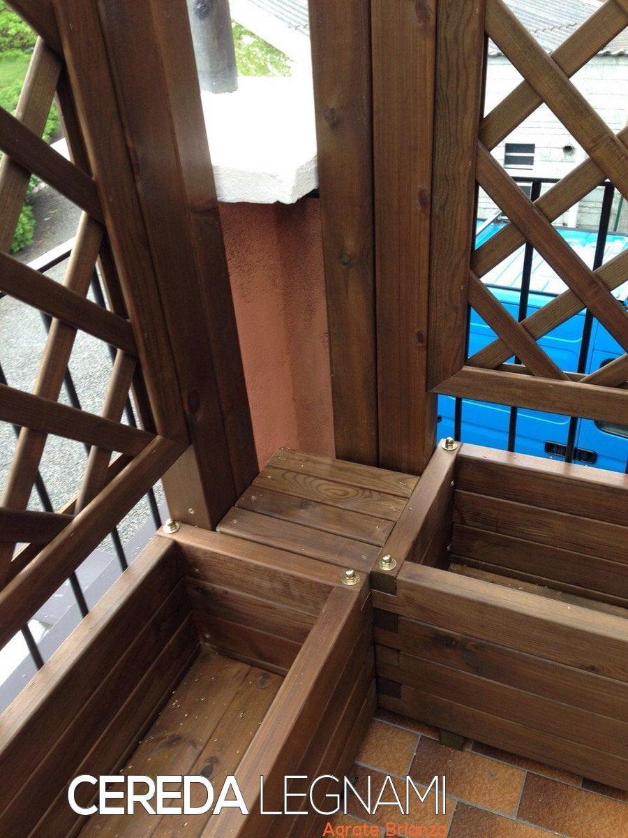 Best griglie da terrazzo photos idee arredamento casa for Cereda legnami