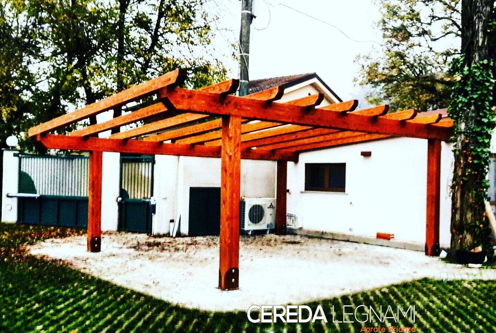 Fase montaggio pergola in ferro addossata 2016 08 14 pergola da giardino addossata in legno di for Pergola addossata ferro