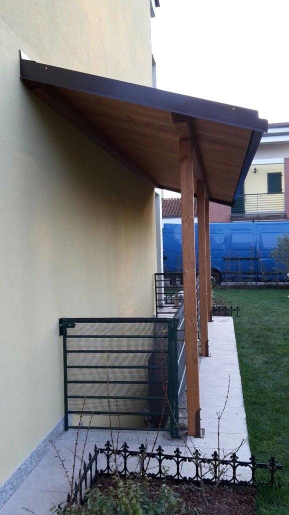 Portico legno for Piccoli piani di portico in legno