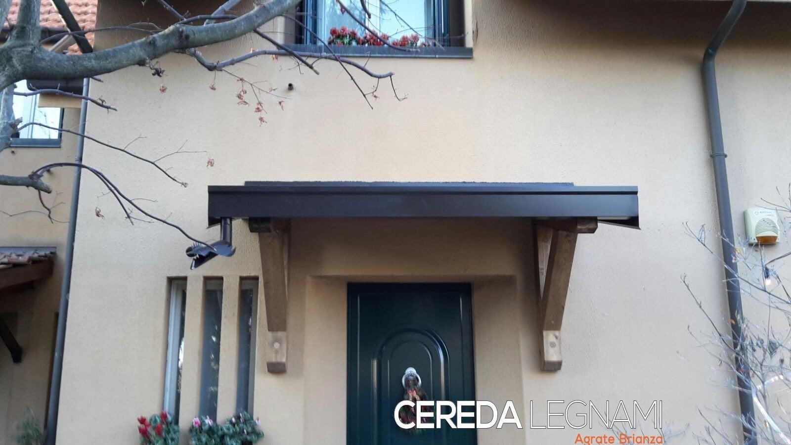 Douglas veranda disegno for Cereda legnami