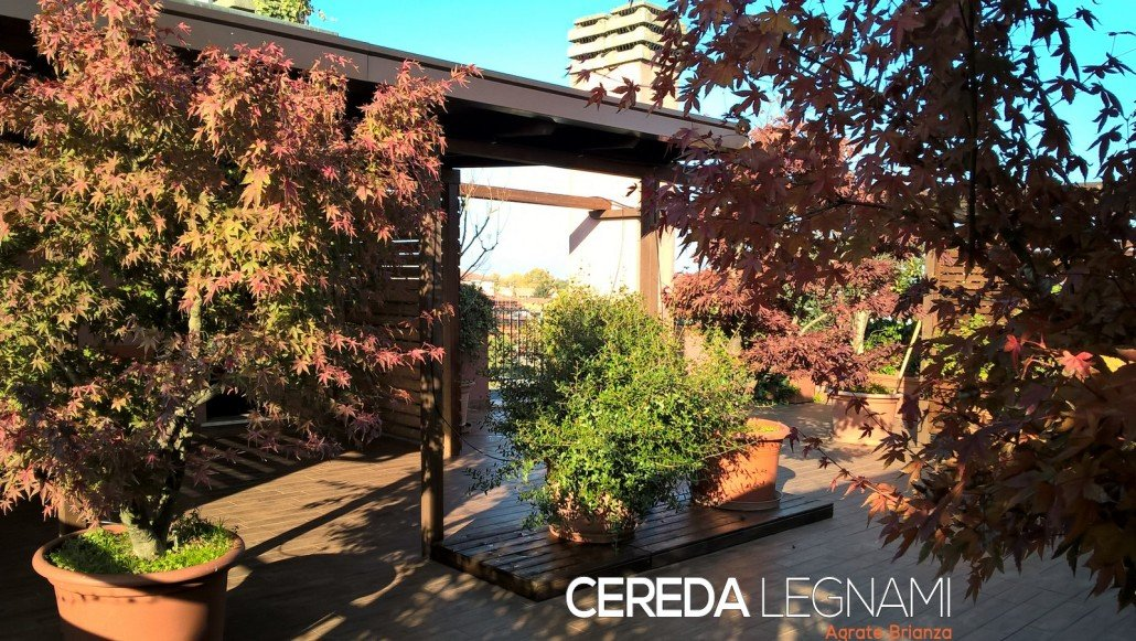 tettoia per giardino