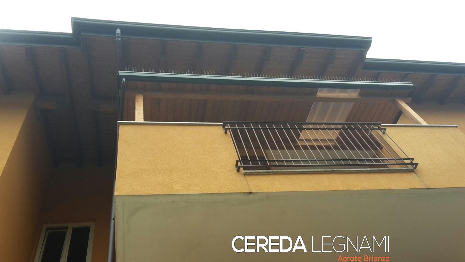 Struttura in legno per esterno cereda legnami agrate brianza for Cereda legnami