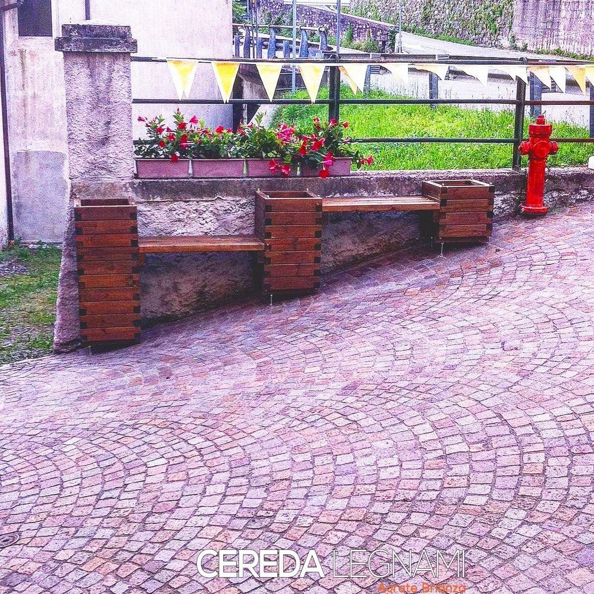 Fioriere legno su misura cereda legnami agrate brianza for Cereda legnami