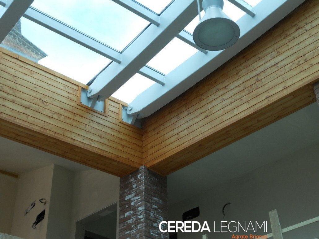 Vendita perline di legno cereda legnami agrate brianza for Rivestimento perline legno bianco
