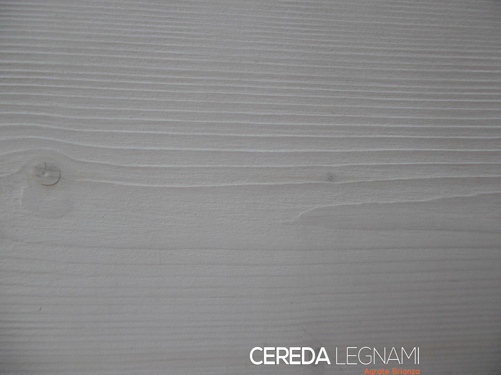 Perline legno bianche spazzolate o rusticata cereda for Cereda legnami