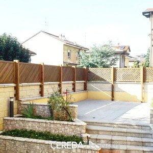 Divisori legno per balconi e terrazzi - Cereda Legnami Agrate Brianza