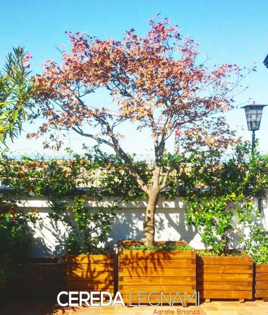 Bien connu fioriere legno grandi dimensioni - Cereda Legnami Agrate Brianza SA48