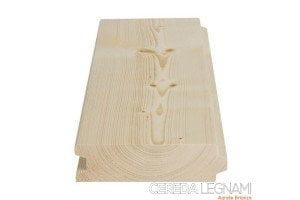 perline legno abete per pareti e solette