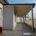 realizzazione e posa in opera tettoie addossate in legno