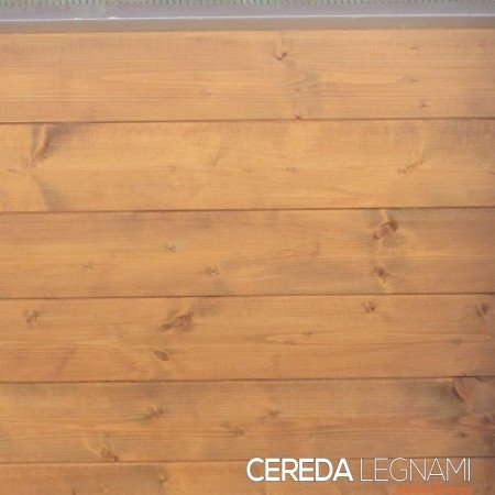 Vendita e posa in opera di perline in legno di abete verniciate
