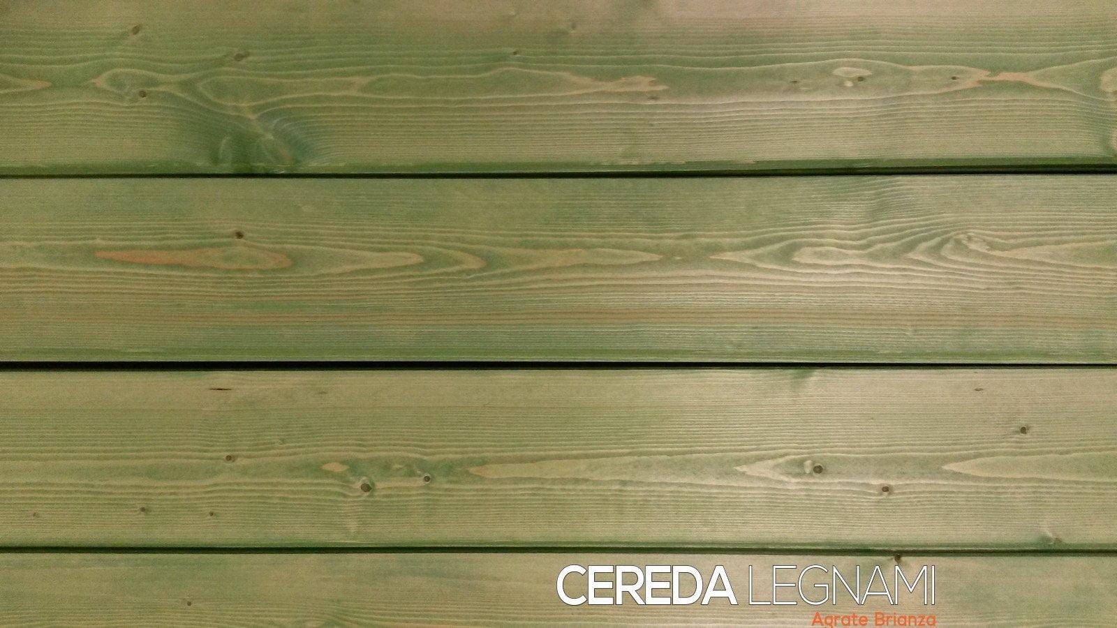 Perline abete per interno colorate cereda legnami agrate for Perline in legno per pareti prezzi
