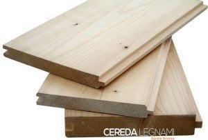 perline in legno di abete per interno