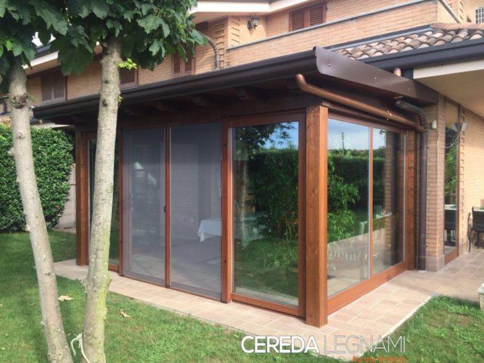 Tetti in legno tettoie pergole e pensiline milano e brianza for Come costruire un mazzo di portico anteriore