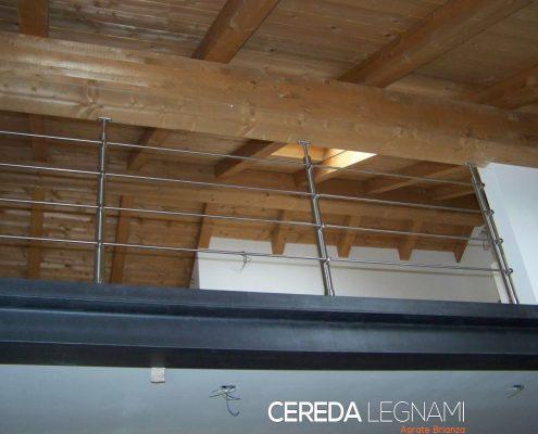 Soppalco in legno su misura a Monza