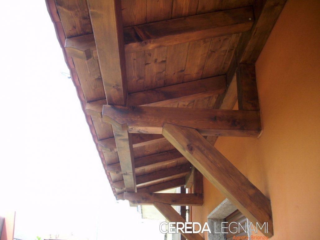 Pensiline ed ingressi in legno  CEREDA LEGNAMI Agrate Brianza