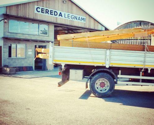Cereda legnami consegna in tutta Italia e spedisce anche all'estero