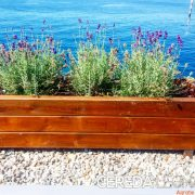 Fioriera in legno di Cereda Legnami