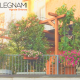 Pergola da terrazzo e guardino in legno realizzata da Cereda Legnami