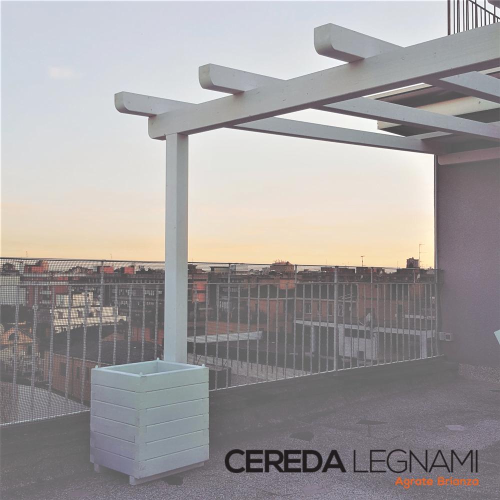 Pergola terrazzo tutto su ispirazione design casa for Cereda legnami