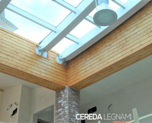 perline rivestimento dogato legno abete