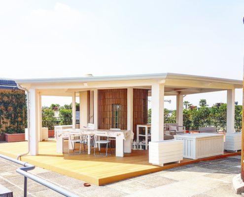foto di veranda moderna