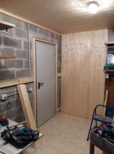 Perline in legno per rivestire garage, box auto e cantine