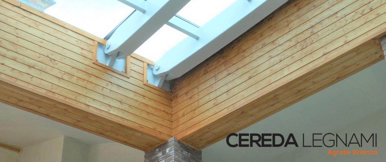 Perline in legno per rivestire pareti e arredare interni cereda legnami - Parete in legno per interni ...