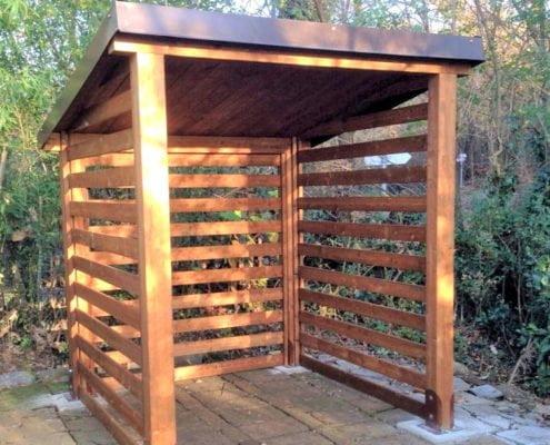 deposito legno su misura