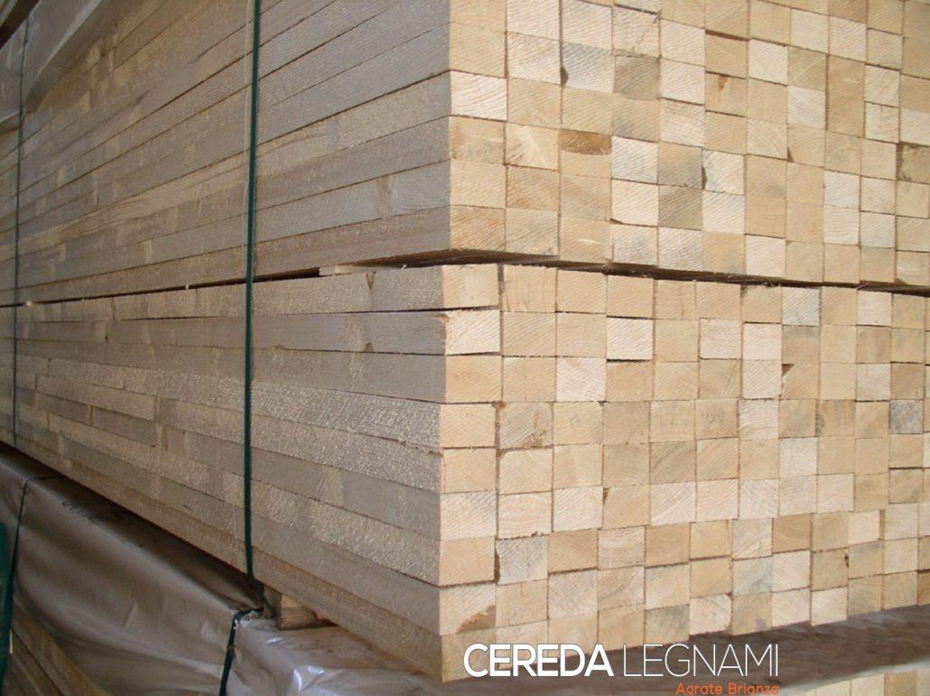 Legname economico per allestimenti e fiere cereda legnami agrate - Listoni legno per pareti interne ...